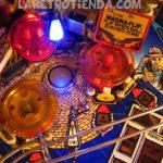 Dead End street lamp Twilight Zone Pinball mod