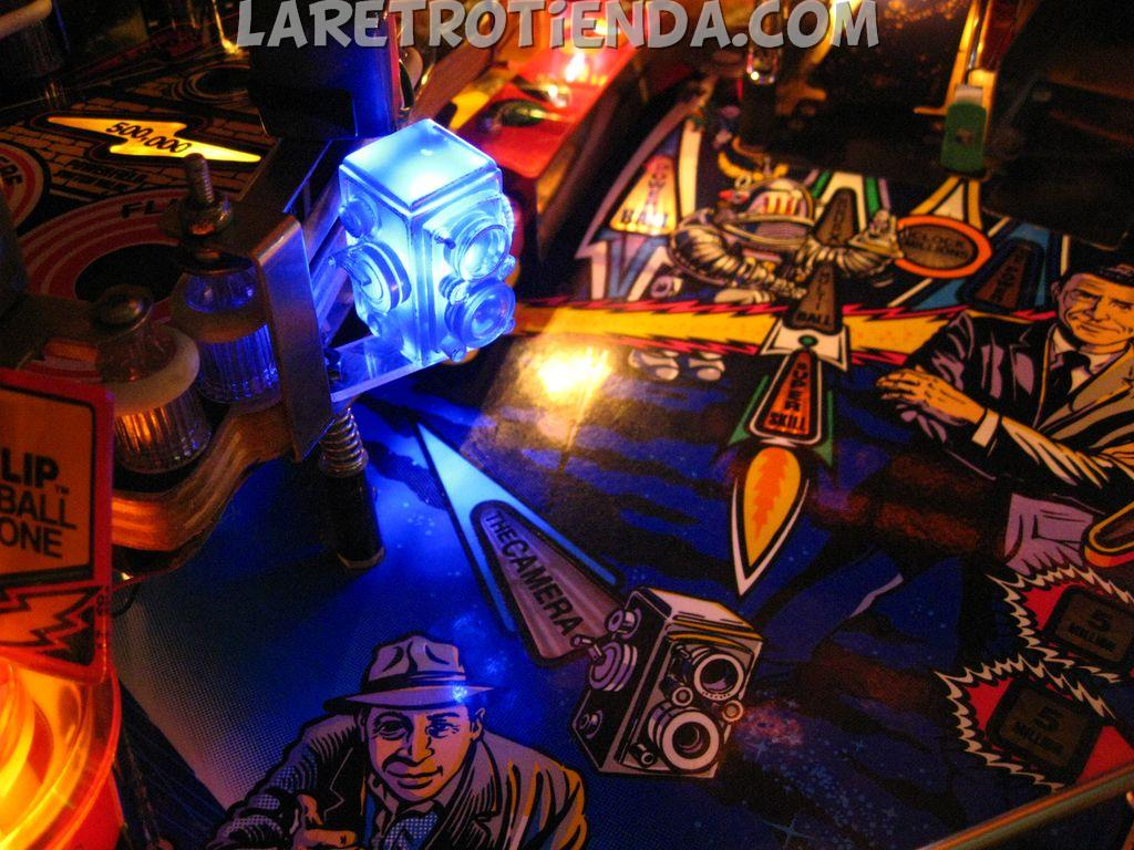The Camera Twilight Zone Pinball mod