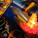 Rocket ship Twilight Zone pinball mod