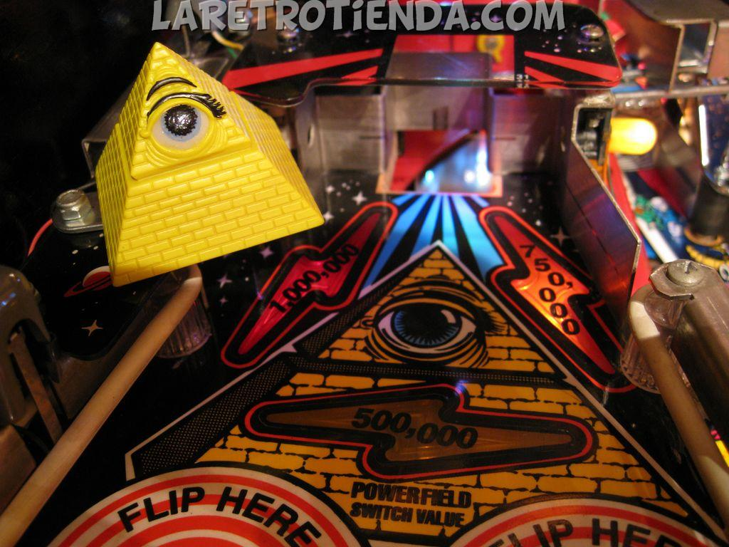 The Pyramid Twilight Zone pinball mod