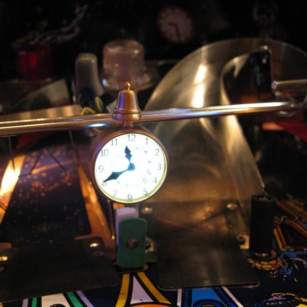 Clock Millions Twilight Zone Pinball mod