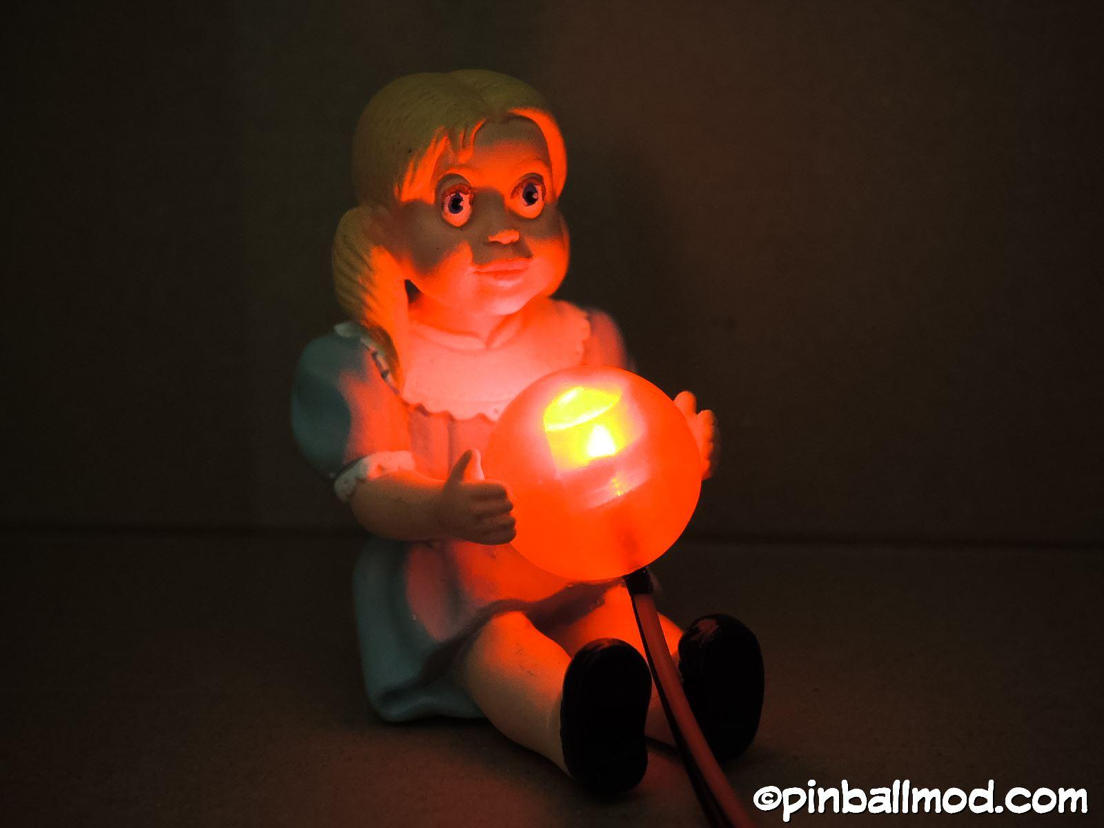 Twilight Zone Talky Tina Doll mod | Pinball Mods
