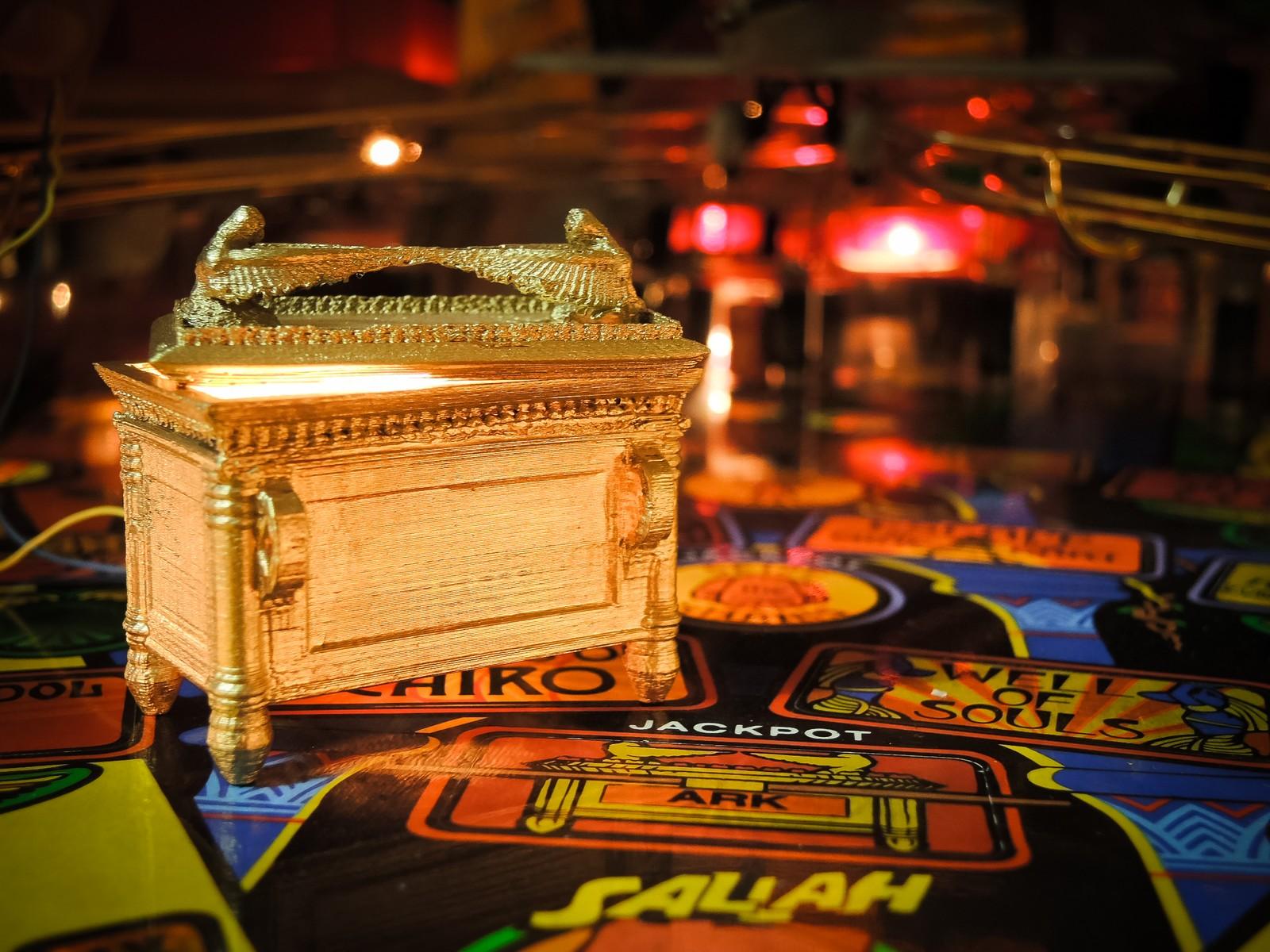Ark of the covenant Indiana Jones pinball MOD
