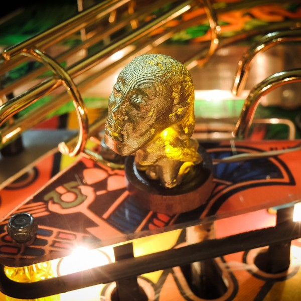 Golden Idol Indiana Jones pinball MOD